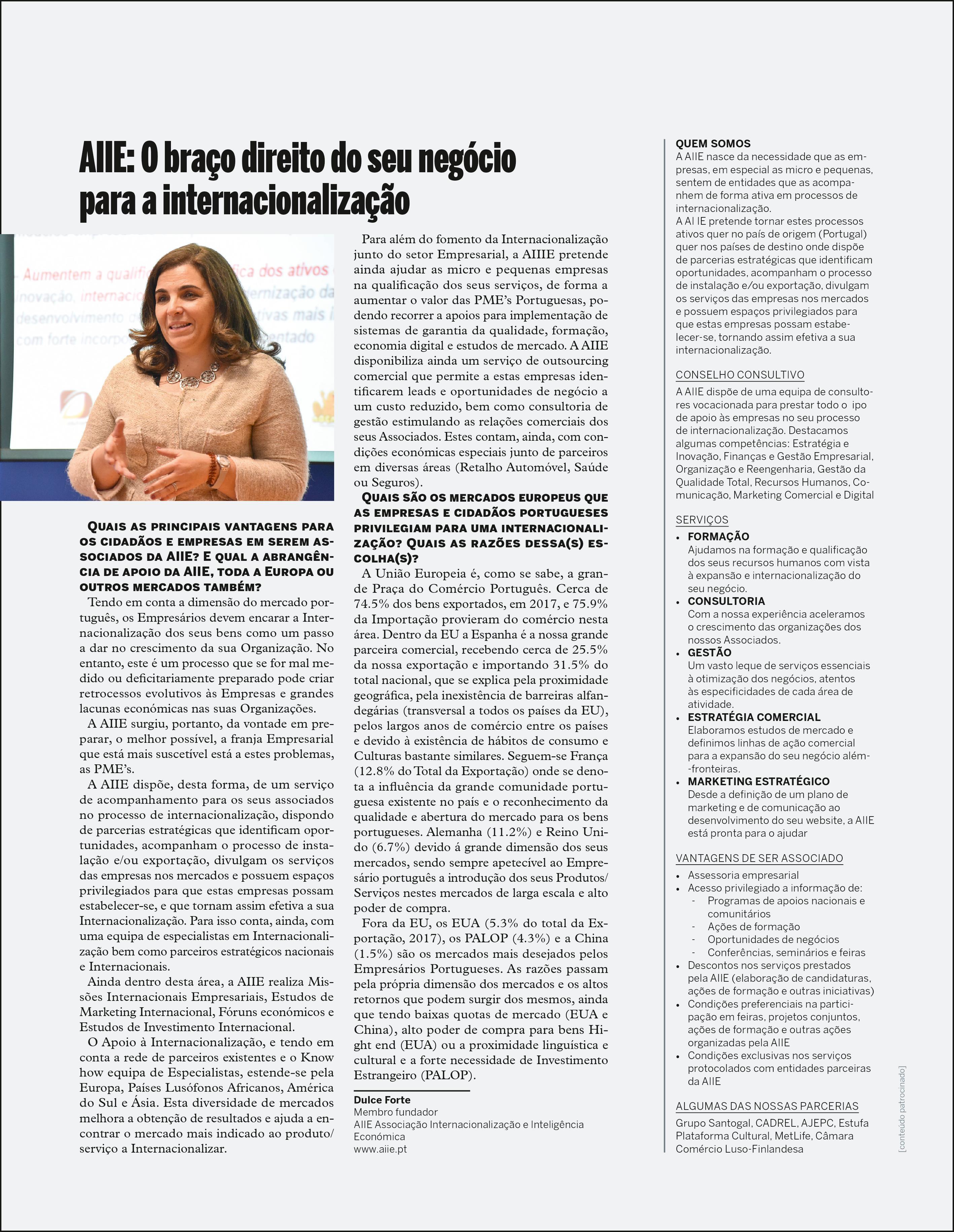 A AIIE marca presença na PortugalExpo no Luxamburgo; Noticias